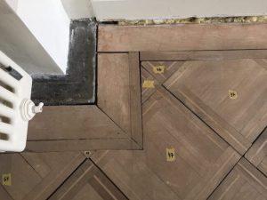 Parkettboden Detail